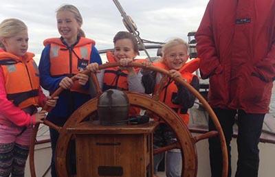 Zeilen op het IJsselmeer